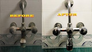 Bathroom Cleaning Tips:- How to Clean a Bathroom Tap and