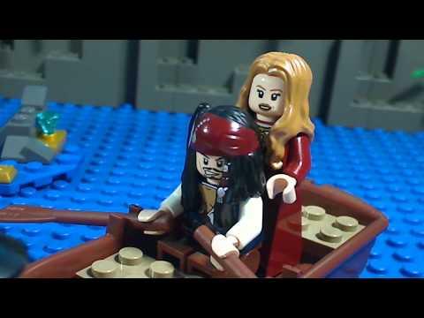 Vidéo LEGO Pirates des Caraïbes 4181 : Ile de la Muerte