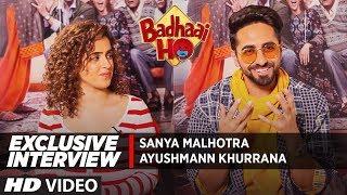 Exclusive Interview: Ayushmann Khurrana  & Sanya Malhotra   Badhaai Ho