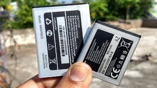 How To Make a Mobile Phone Battery To Portable Rechargeable Battery  || DIY