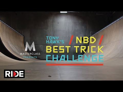 MasterClass Presents Tony Hawk's NBD/Best Trick Challenge: Introduction by Tony Hawk