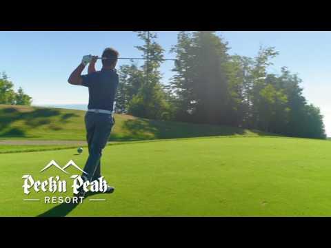 Play Where The Pros Play at Peek'n Peak Resort