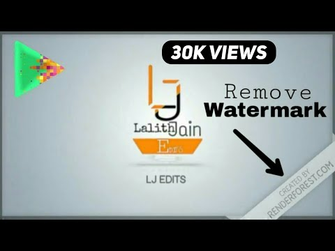Video logo or watermark remover, remove water mark in