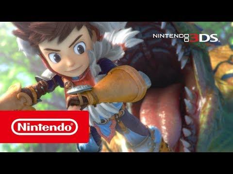 Monster Hunter Stories - Overview Trailer (Nintendo 3DS) thumbnail