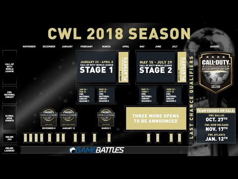 Call of Duty eSports 2018 highlights