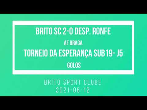 2021-06-12 Juniores Brito SC 2-0 D. Ronfe - golos