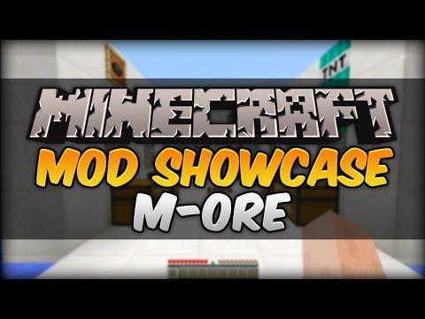 Minecraft 1.7.10 Mod Showcase - M-Ore (Titanium, Uranium, Ruby, Sapphire, Meteorite + More)