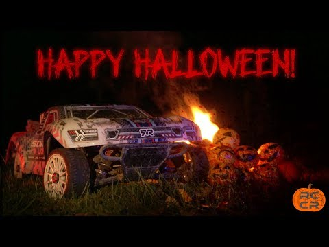 EPIC RC Car Race - Halloween Edition | RCCarRacing