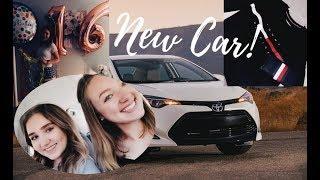 16th BIRTHDAY VLOG || GETTING MY LICENSE + NEW CAR + CAR TOUR