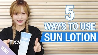 5 Useful Tips on How to Use Sunblock / Sunscreen