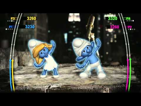 The Smurfs Dance Party Commercial (2011) (Television Commercial)