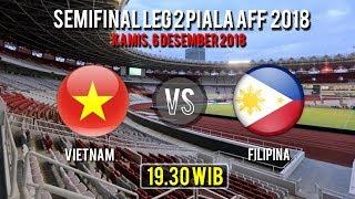 Live Streaming Semifinal Leg 2 Piala AFF, Vietnam Vs Filipina, Kamis Pukul 19.30 WIB
