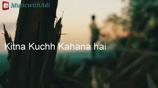 Aakho ????️ me teri ajab☺️ si Song lyrics | Whatsapp status