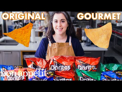Download Pastry Chef Attempts to Make Gourmet Doritos | Gourmet Makes | Bon Appétit Mp4 HD Video and MP3