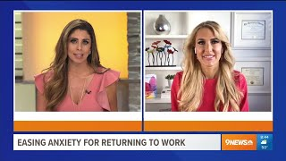 Anxiety Returning To Work – Heather Hans 9NEWS Denver