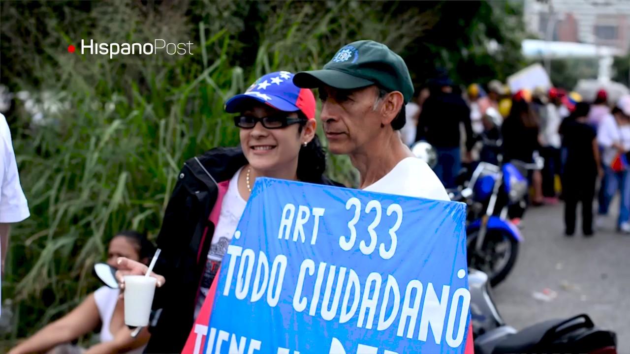 La cometa que protesta contra el Gobierno de Nicolás Maduro