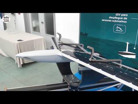 Marine Instruments lleva a Limex su dron MSD Sterna para vigilancia marítima