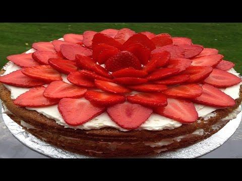 mp4 Cake Decoration Strawberry, download Cake Decoration Strawberry video klip Cake Decoration Strawberry