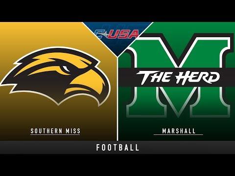 Southern Miss vs Marshall - College Football Hype | Stadium