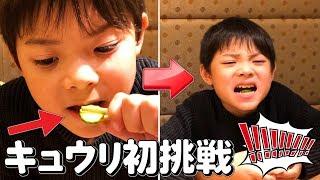 回転寿司食べたらスマブラ!キュウリ初挑戦!外食夜ご飯いおりくんTV日常と休日