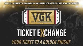 Vegas Golden Knights Ticket Exchange