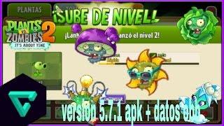 Plants vs  Zombies 2 v5 7 1 Mega MOD APK+DATA - Most Popular