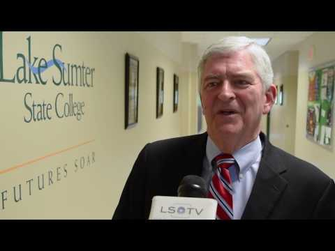 Congressman Webster (FL-11) visits LSSC's Energy Utility Institute