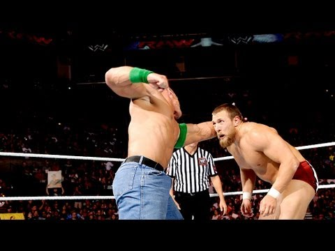 John Cena vs. Daniel Bryan: Raw, August 6, 2012