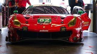 El FERRARI 488 GT3 de CARRERAS y el COCHE de FERNANDO Alonso en Daytona 24h | Dani Clos