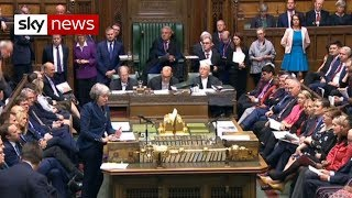 Brexit crisis: Theresa May addresses MPs ahead of vote