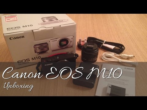 Canon EOS M10 Unboxing (Full HD)