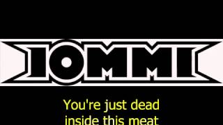 Tony Iommi Featuring Skin - Meat (Lyrics) - MétaLiqude