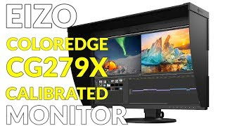 EIZO ColorEdge CG279X Monitor with Build-In Calibration Sensor