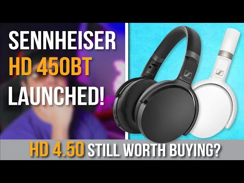 External Review Video RrsdHK-udI0 for Sennheiser HD 450BT Over-Ear Wireless Headphones w/ Active Noise Cancellation
