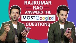 Rajkummar Rao reveals how to get pregnant | Most Googled Question | Pinkvilla | Bollywood