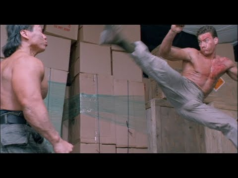 Double Impact Fight Scene - Van Damme vs. Bolo [HD]