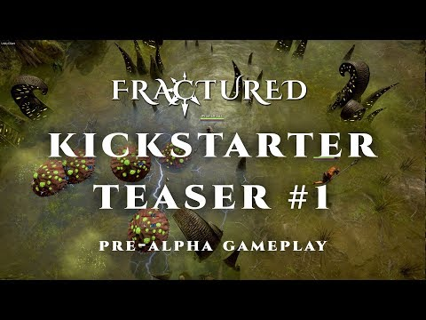 Fractured MMO - Pre-Alpha Gameplay Trailer #1