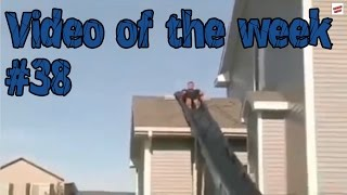 Video of the week 38 - Homemade Water Slide Fail