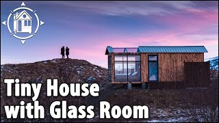 The Perfect Tiny House to view Northern Lights in Iceland