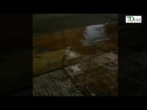 ROTURA DE TUBERÍAS EN SAN ROQUE, BADAJOZ