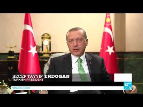 EXCLUSIVE - Turkish president Recep Tayyip Erdogan tells FRANCE24 how he escaped the military coup