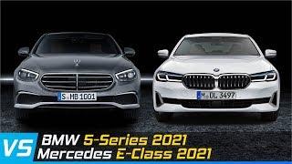 BMW 5-Series 2021 Vs Mercedes E-Class 2021   Design & Specs Comparison   Aircar