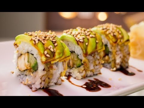 Video Teriyaki Chicken Sushi Roll Recipe
