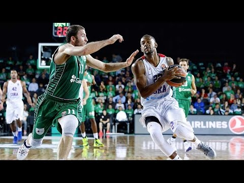 Highlights: RS Round 4, Darussafaka Dogus Istanbul 75-80 CSKA Moscow