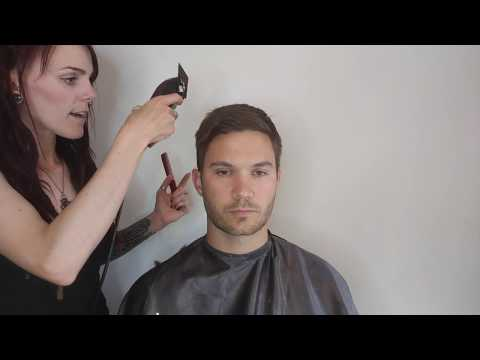 Blending the Sides into the Top of Men's Haircuts   A Basic Guide for Beginners