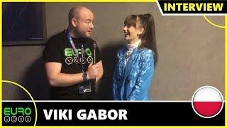 POLAND: Viki Gabor   'Superhero' (INTERVIEW)   LIVE AT JUNIOR EUROVISION 2019