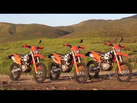 2017 KTM EXC-F Dual Sport First Test- Cycle News