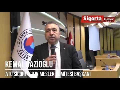 Kemal GAZİOĞLU, Sigortacılık Sektör Değerlendirme Toplantısında Sigorta Habere konuştu.