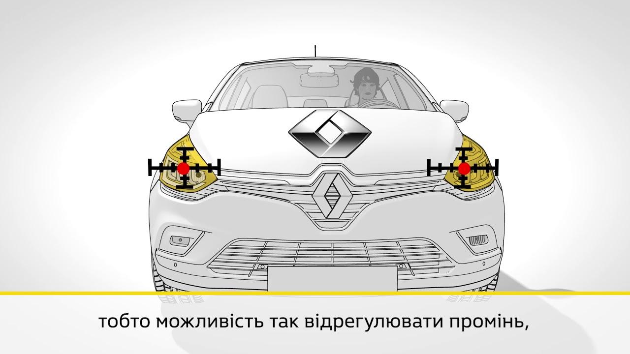 Сервіс Renault - Вітрове скло