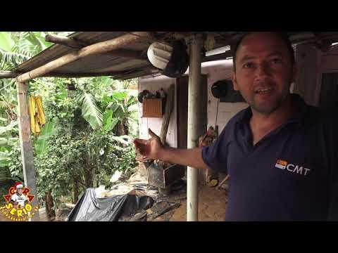 Gilberto fala sobre o sofrimento de morar na Rua Laurindo Pinto de Oliveira